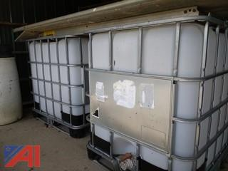 (2) 275 Gallon Holding Tanks