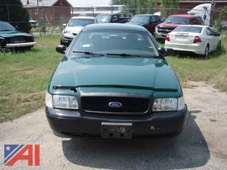 2010 Ford Crown Victoria 4 Door Police Interceptor