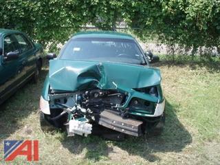 2011 Ford Crown Victoria 4 Door Police Interceptor