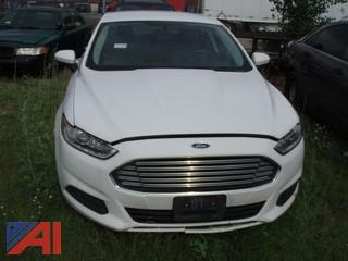 2013 Ford Fusion 4 Door