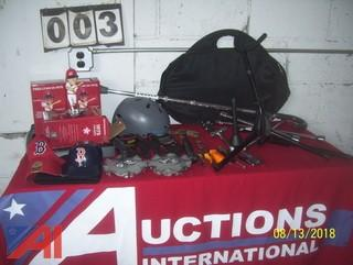 Tools, Red Sox Items and More