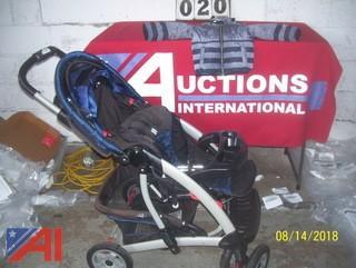 Children's Stroller and coat