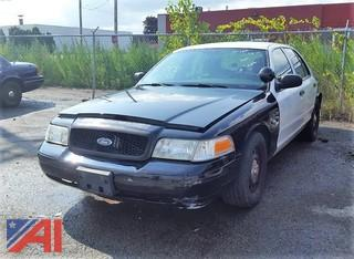 2009 Ford Crown Victoria 4 Door Police Interceptor