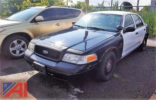 2008 Ford Crown Victoria 4 Door Police Interceptor