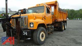 1997 International 2574 Dump Truck with Wing Plow