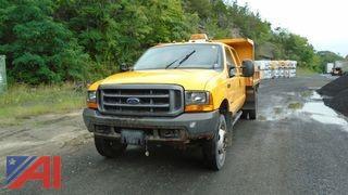2000 Ford F550 Dump Truck