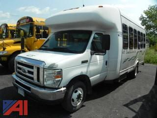 2008 Ford E450 School Bus with Wheelchair Lift