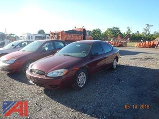 2007 Ford Taurus 4 Door