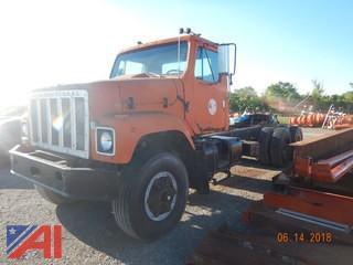 1981 International 2574 Dump Truck