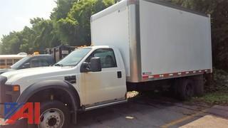 2008 Ford F550 Super Duty Box Truck