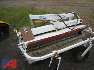 Melroe Angle Broom for Bobcat Skid Steer