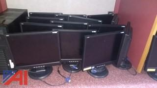(37) AOC 177S Monitors