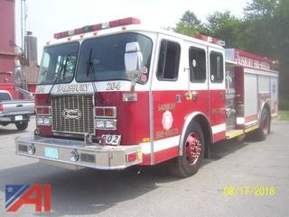**Hours updated** 2000 Emergency One C400 Pumper
