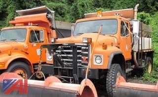 1986 International 1854 Sander Truck