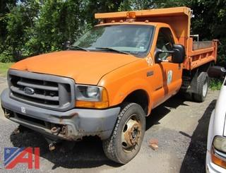 1999 Ford F550 Pickup with Dump Body