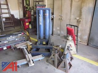 Bumper Jack, Transmission Jack, Tire Balancer and More