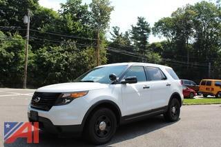 **5% BP** 2015 Ford Explorer MPV Police Interceptor
