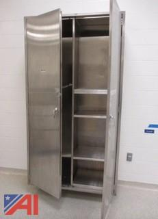 2 Door Stainless Steel Cabinet