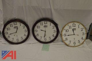 (3) Venus Radio Controlled Clocks