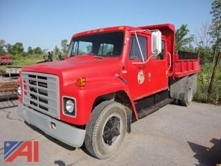1981 International 1724 Dump Truck