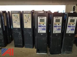 (8) Cale CWT Compact Parking Meters