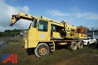 1993 Gradall 660E Wheel Excavator