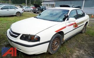 2005 Chevy Impala 4 Door Police Sedan