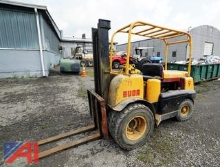 1958 Buda/Allis Chalmers Pneumatic Tire 2 Stage Forklift