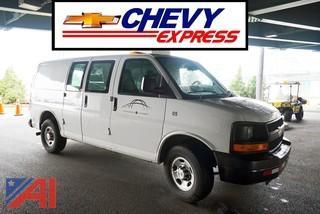 2007 Chevy Express Cargo/Service Van
