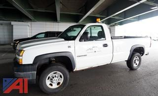 2006 Chevy Silverado 2500HD Pickup Truck with Lift Gate