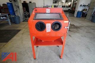 Chicago Pneumatic #93608 Steel Sand Blast Cabinet with Gun