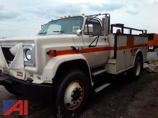1990 Chevrolet C7000 Utility Truck