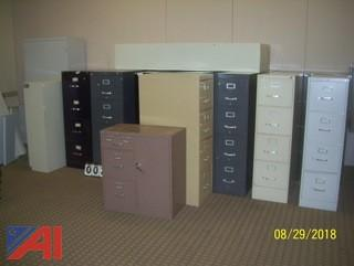 Lot of Metal Cabinets and More