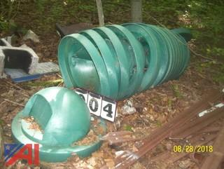(15) Molded PVC Barrel Covers