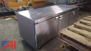 Norlake 3-Door Under Counter Refrigerator