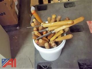 (35) Wood Lathe Turning Knives