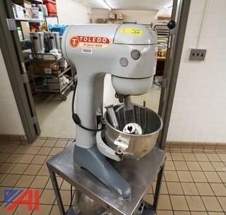 Toledo TM-2 20QT Dough Mixer and Cart