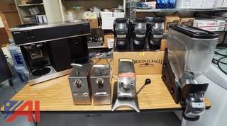 Bunn Coffee Equipment & Can Openers