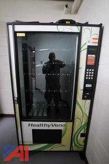 (2) Healthy Vend Refrigerated Vending Machines