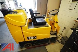 Tomcat 290 Cylindrical Riding Floor Scrubber/Sweeper