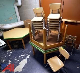 Maple Kindergarten Tables & Chairs