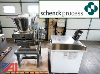 (3) Schenck AccuRate Bulk Volumetric Feed Systems