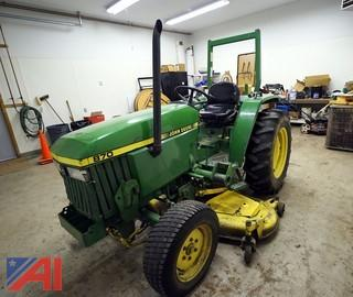 John Deere 870 Compact Utility Tractor and Attachments