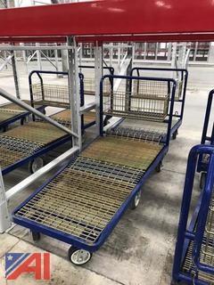 (2) Heavy Duty Industrial Carts