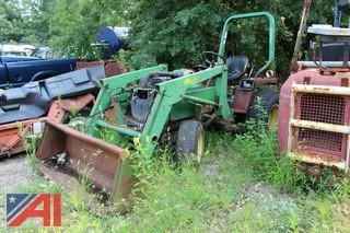 1989 John Deere 855 Front End Loader