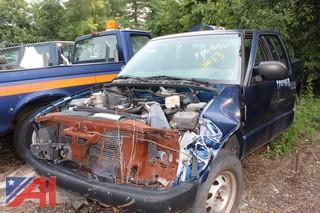 2001 Chevrolet S10 Pickup Truck