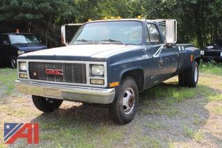 1991 GMC 3500 Pickup Truck