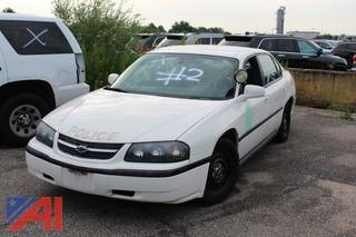2004 Chevrolet Impala Sedan/Police Vehcile