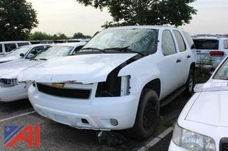 2010 Chevrolet Tahoe SUV/Police Vehicle