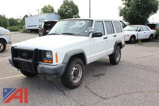 1998 Jeep Cherokee SUV/Police Vehicle